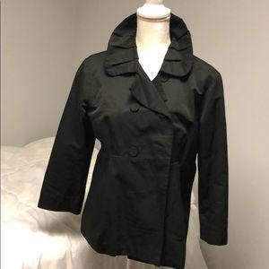Mossimo 3/4 sleeve black blazer size L EUC
